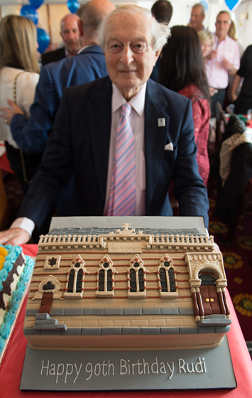 Rudi Leavor Birthday