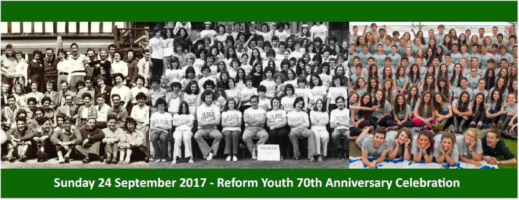 Reform Youth 70th Anniversary Celebration @ Sternberg Centre