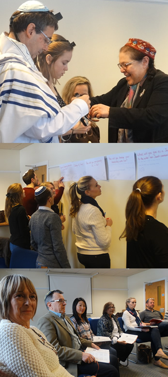 Participants on Reform Judaism's biggest ever residential weekend for people considering conversion to Judaism, currently in the process of conversion or who have recently converted.
