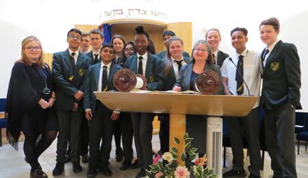 Forest Academy pupils visit SWESRS