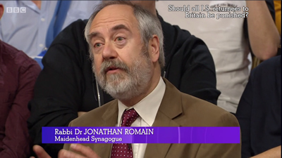 Rabbi Dr Jonathan Romain on The Big Questions