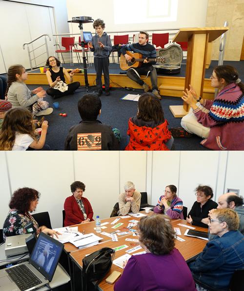 Participants at Live and Learn at Menorah Synagogue