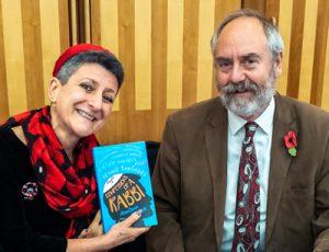 Rabbi Laura Janner-Klausner and Rabbi Dr Jonathan Romain