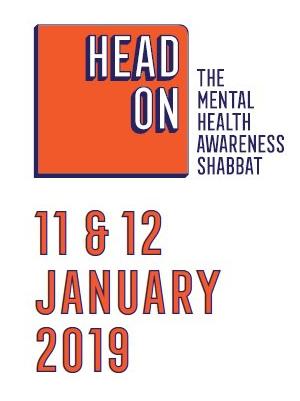Mental Health Awareness Shabbat 2019 11 & 12 January