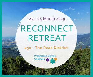 Reconnect Retreat for Progressive Jewish students