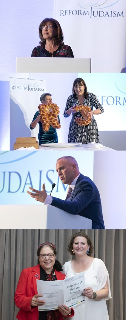 Pictures from Reform Judaism's annual fundraising dinner